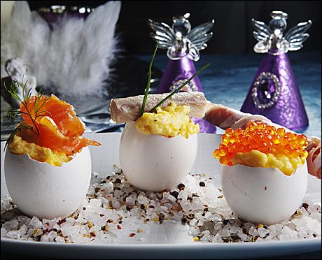Saftig eggerøre