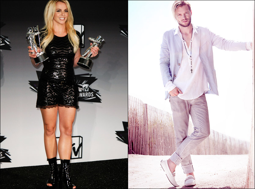 SUKSESSAMARBEID: Britney Spears og Ray Kay vant pris for årets beste pop-video. Foto: Reuters / Raykay.com / Michael Raveney.