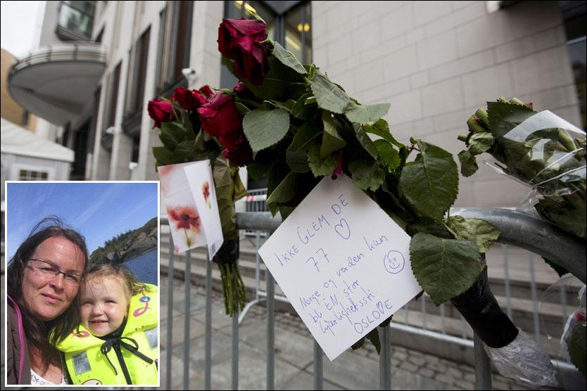 Lill Hjønnevåg vil samle en folkemasse utenfor Oslo tinghus og synge «Barn av regnbuen» inn til Anders Behring Breivik! thumbnail