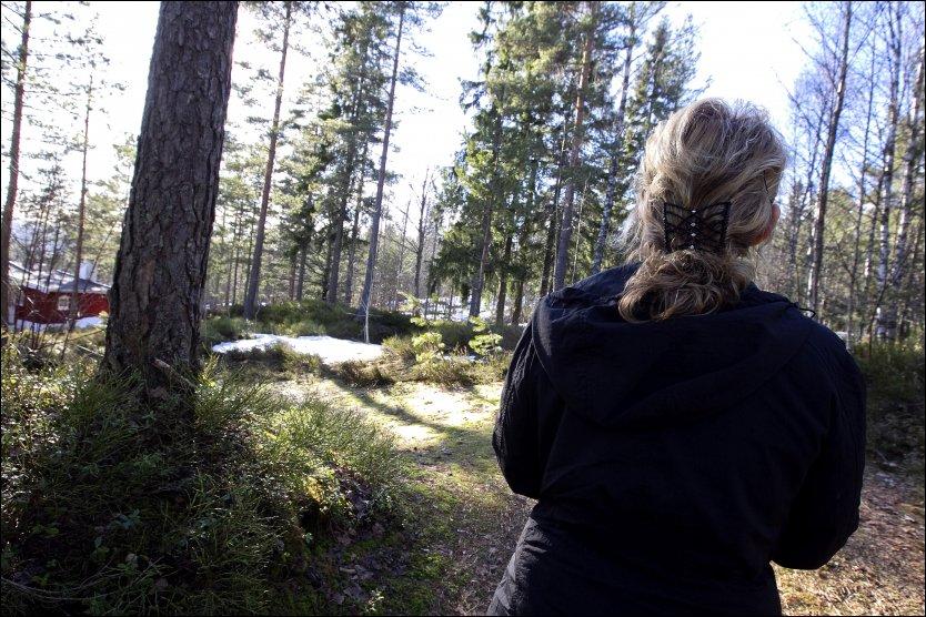 PÅ FLUKT: I 16 år levde kvinnen (50) og hennes barn i frykt for mannen som forfulgte og  truet dem. Foto: ALF ØYSTEIN STØTVIG