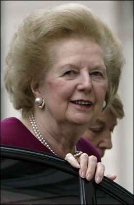 EKSTREM DIETT: Storbritannias tidligere statsminister Margareth Thatcher, gikk p&aring; en ekstrem diett f&oslash;r valget i 1979. Foto: AFP