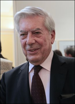 FIKK NOBELPRISEN: Peruanske Mario Vargas Llosa. Foto: AFP