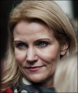 PION&Eacute;R? Helle Thorning-Scmidt kan bli den f&oslash;rste kvinnelige statsministeren i Danmark. Foto: Afp