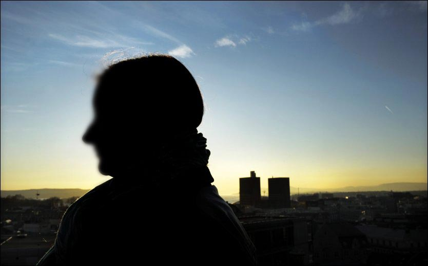 VOLDTEKTSOFFER: Jenta har ikke fortalt sin nærmeste familie at hun ble utsatt for en overfallsvoldtekt, og vil derfor være anonym. Foto: Helge Mikalsen/VG