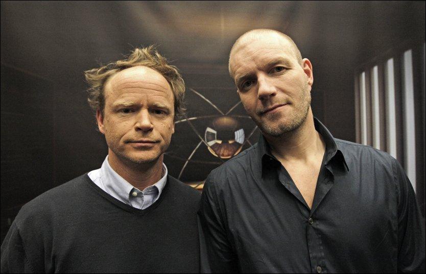 TILBAKE PÅ SKJERMEN: Harald og Bård er mandag tilbake på skjermen med sitt første program etter «Storbynatt». Foto: Trond Solberg