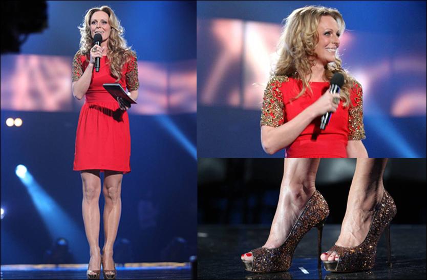 MGP-Marte Stokstad med kveldens mest sexy hæler, ei lekker og vakker dame! thumbnail