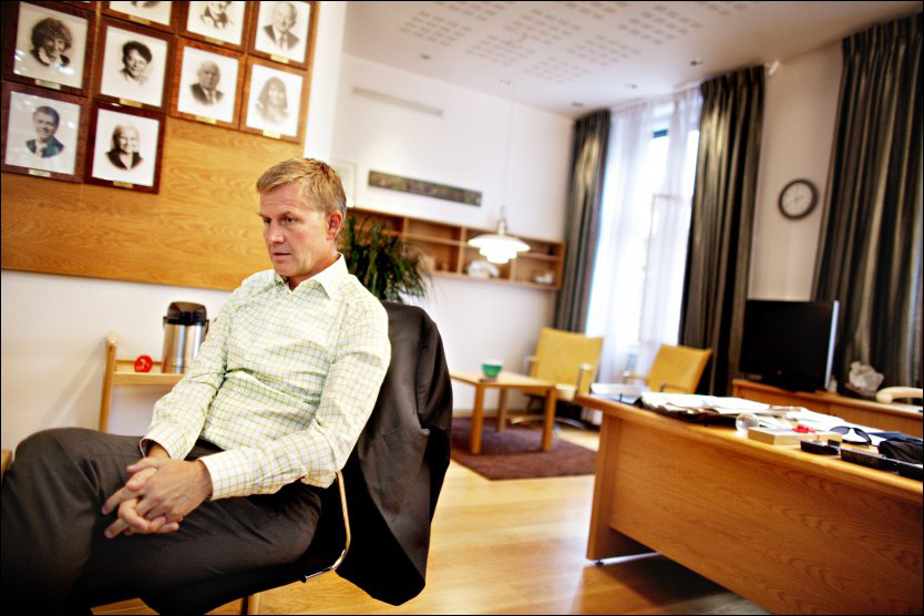 BEKYMRET: Milj&oslash;vernminister Erik Solheim. Foto: Scanpix