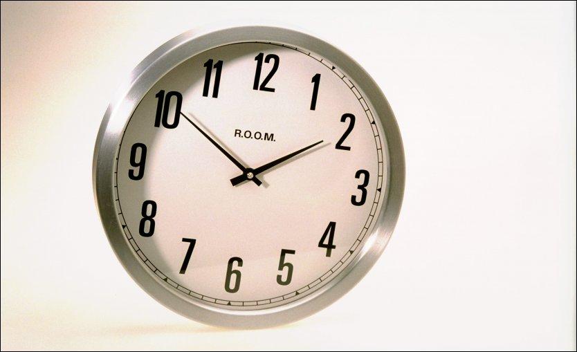 BONUS: Dette døgnet er et sekund lengre enn det siste. Foto: MAGNAR KIRKNES