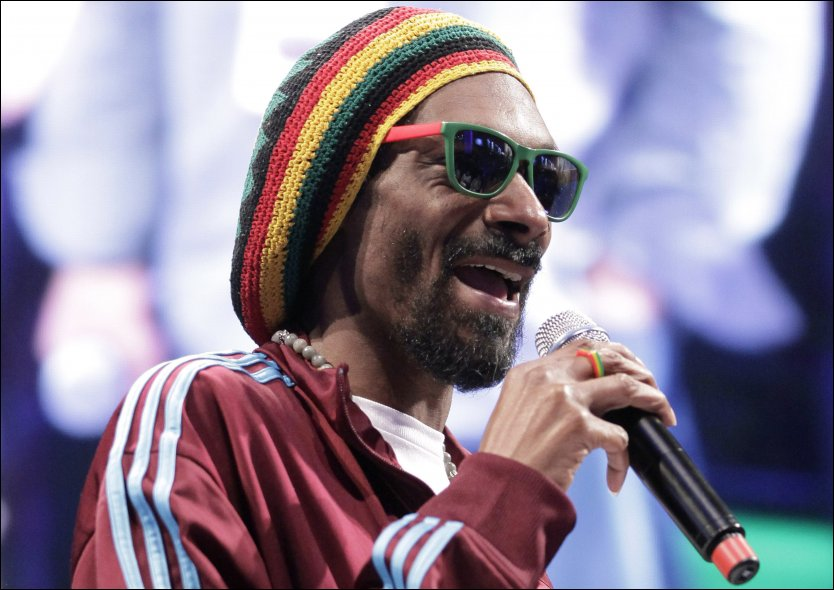 TOLLTATT: Snoop Dogg ble tatt i tollen sist han var i Oslo. N&aring; er han utestengt fra landet. Foto: Ap
