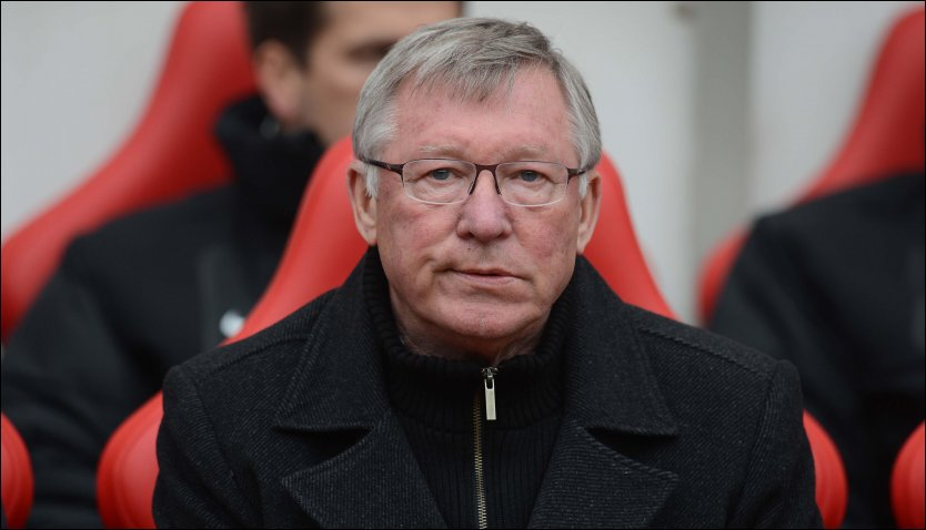 OPPTATT: Alex Ferguson er opptatt med andre ting n&aring;r Manchester United bes&oslash;ker Oslo i helgen. Foto: Owen Humphreys, Pa Photos