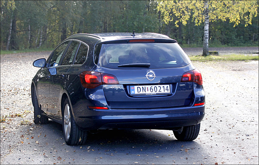 BEST: Opel Astra 2009. Foto: Jan Petter Lynau