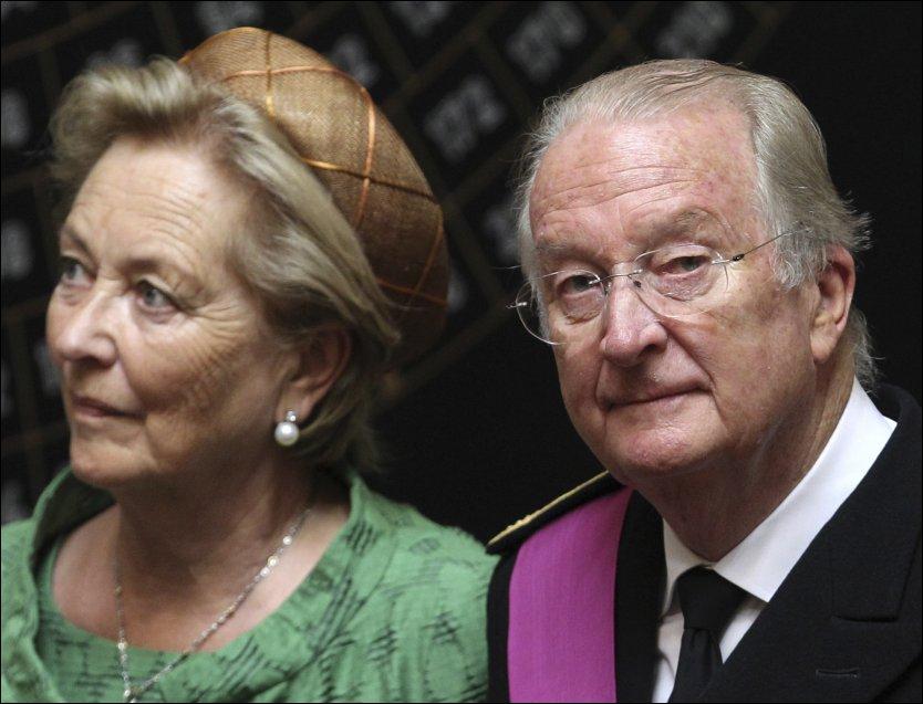 KNAPPEST MINSTEPENSJONIST: Den tidligere belgiske kongen Albert II skal være misfornøyd med sin millionpensjon. Foto:AP Foto: