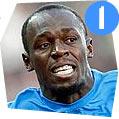 Usain Bolt, Sprint