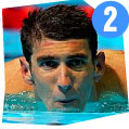 Michael Phelps, Svømming