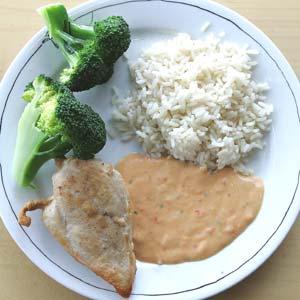 1 dl ris i gram