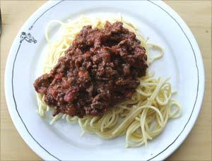 kalorier i spaghetti