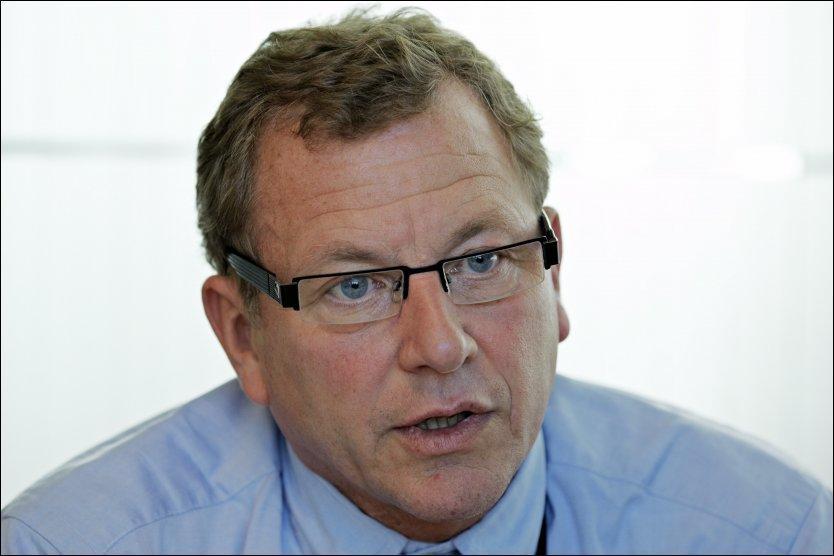 NHO-SJEF: John G. Bernander har forhandlet seg frem til en gunstig pensjonsordning (AFP). Foto: Tore Kristiansen/VG