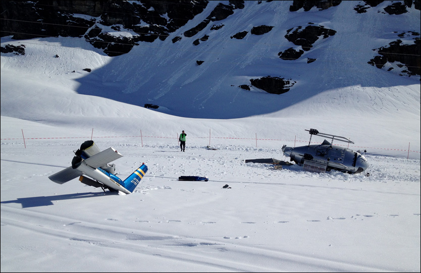 AS350 down in Norway - pilot suspected of being over the