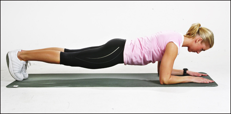 Planken trening
